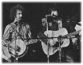 Clarence White and Bernie Leadon